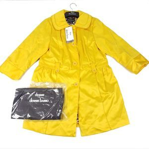 Dennis Basso Trench 3/4 Sleeve Jacket Size Sm NWT